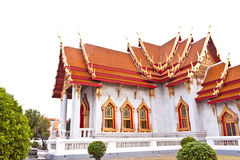 Marble Buddhist Church Stock Photo