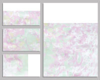 Marble buisness cards. Royalty Free Stock Images