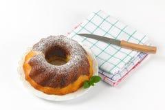 Marble bundt cake Stock Image