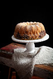 Marble bundt cake Royalty Free Stock Photo