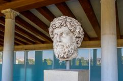 The marble bust Royalty Free Stock Image