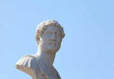 Marble bust Stock Photography