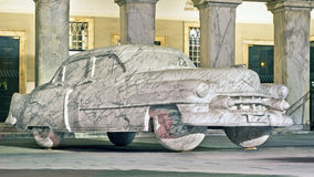 Marble Cadillac, 1952 Model Royalty Free Stock Image