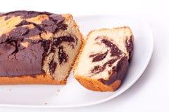 Marble cake Royalty Free Stock Photo