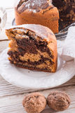 Marble cake Royalty Free Stock Photo