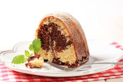 Marble cake Royalty Free Stock Images