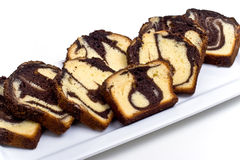 Marble Cake Slices Royalty Free Stock Photo