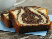 Marble Cake Slices Stock Photography