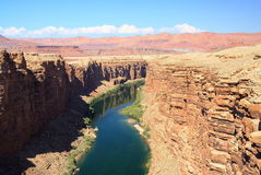 Marble Canyon, Arizona. View of the Colorado river at Marble Canyon Royalty Free Stock Photography