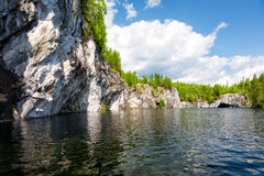 Marble canyon. Royalty Free Stock Photos