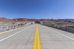 Marble Canyon Bridge Highway 89A in Arizona Stock Photography