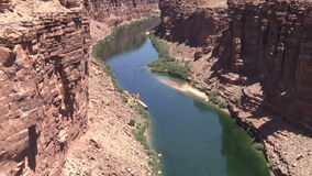 Marble Canyon stock video footage