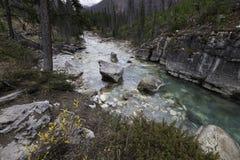 Marble Canyon, Kootenay National Park Stock Photography