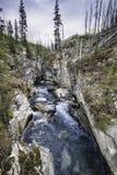 Marble Canyon, Kootenay National Park Stock Photo