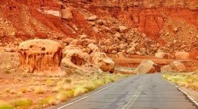 Marble Canyon road Royalty Free Stock Photo