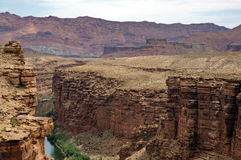 Marble Canyon view Stock Image