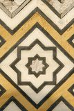 Marble carvings on mosque Taj Mahal, India Stock Photos