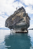 Marble cathedral. Rock in chile stock photo