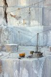 Marble cave stock images