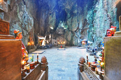 Marble cave, Vietnam Stock Photos