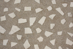 Marble and cement texture. Marble and brown cement texture under mosaic form royalty free stock image