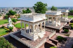 Marble cenotaphs of Marwar Kings Royalty Free Stock Photos