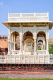 Marble cenotaphs of Marwar Kings Royalty Free Stock Photo