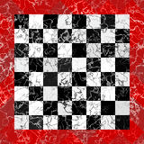 Marble Checkboard. Graphic illustration reminding of a marble checkboard Royalty Free Stock Images