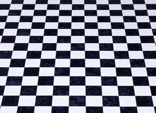 Marble Checkered Checkerboard Background Stock Images