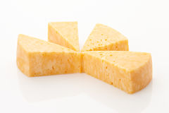 Marble Cheese Stock Image