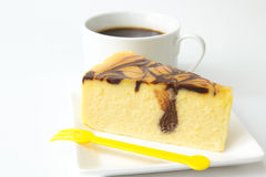 Marble cheese cake Royalty Free Stock Images