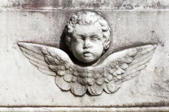 Marble cherub Stock Photos