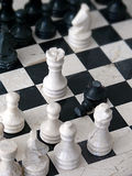 Marble chess Royalty Free Stock Photography