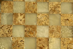 Marble chessboard Stock Images