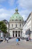 Marble Church, Copenhagen Stock Image