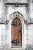 The Marble Church (St. Margaret's Church) door. The Marble Church (St. Margaret's Church) Bodelwyddan. medieval Stock Photo