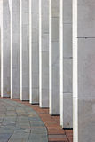 Marble colonnade Stock Photography