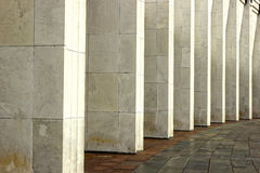 Marble colonnade Royalty Free Stock Photography