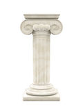 Marble Column Isolated Royalty Free Stock Images