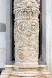 Marble Column, Pisa Cathedral Stock Image
