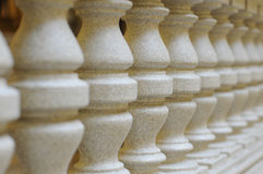 Marble columns. Interior marble columns in a row Stock Images