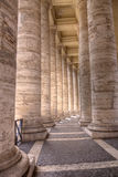 Marble Columns Royalty Free Stock Photo