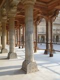Marble columns of the palace, Stock Photography
