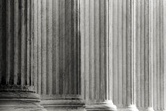 Marble Columns Stock Photography