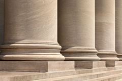 Marble Columns Royalty Free Stock Images
