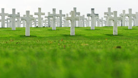 Free Marble Crosses On A Cemetery Stock Image - 36133221