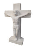 Marble Crucifix Royalty Free Stock Photography