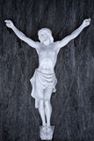 Marble crucifix Royalty Free Stock Images