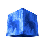 Marble cube Royalty Free Stock Photos