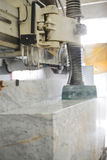 Marble cutting Stock Image